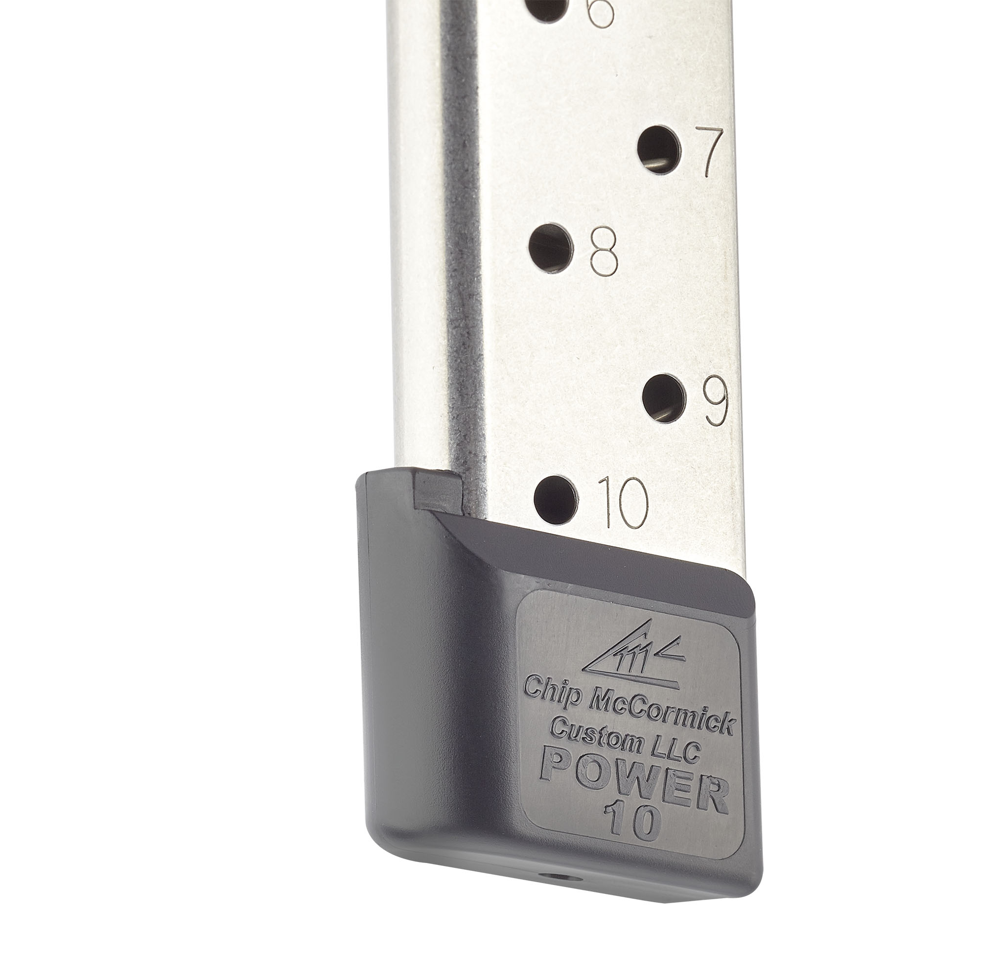Power Mag   Full-Size 1911,  45 ACP, 10 Round, Stainless