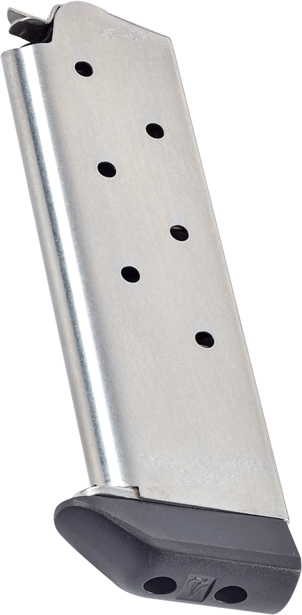 Classic | Full-Size 1911, .45 ACP, 7 Round, Stainless, with Base Pad