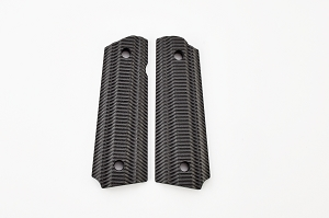 GRIPS, ALIEN, G10, FULL SIZE, BLACK
