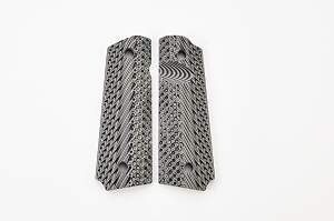 GRIPS, OPERATOR II, G10, FULL SIZE, BLACK/GREY