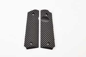 GRIPS, RECON, G10, FULL SIZE, BLACK