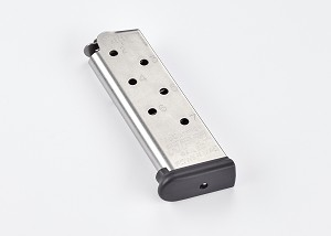 Railed Power Mag (RPM) | Compact 1911, .45 ACP, 7 Round, Stainless