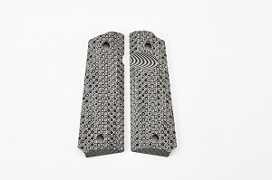 GRIPS, RECON, G10, FULL SIZE, BLACK/GREY